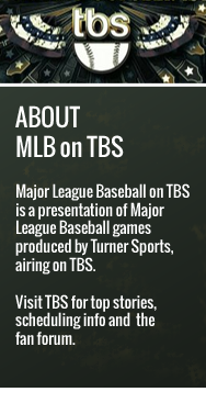 Live Streaming for Every TBS MLB Postseason Game Available Via Watch TBS App.