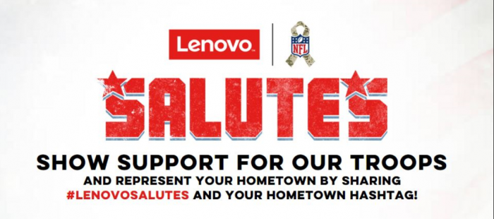 Lenovo Launches Social Campaign To Support Troops - Sports Techie blog.