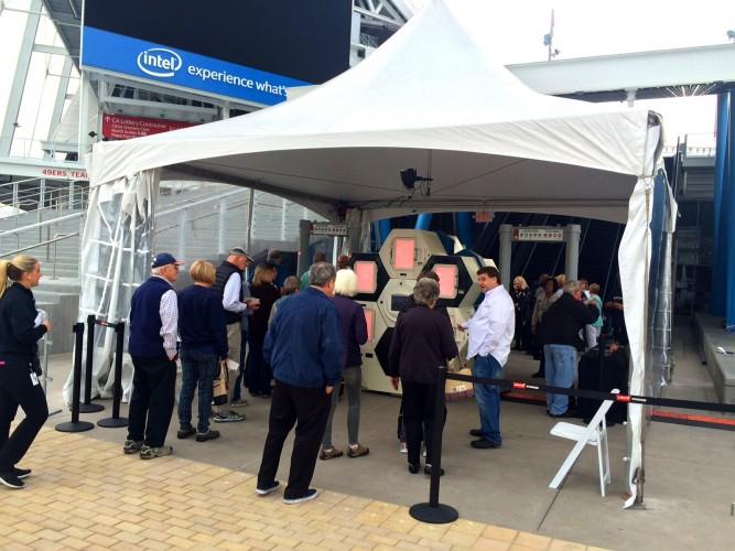 Levi's® Stadium to unveil new security-screening technology.