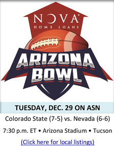 NOVA® HOME LOANS ARIZONA BOWL WILL REACH MORE THAN 88 MILLION HOUSEHOLDS ON AMERICAN SPORTS NETWORK