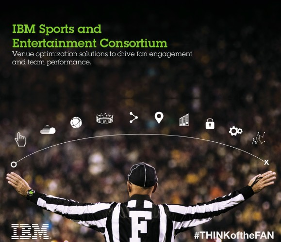 The IBM Sports & Entertainment Global Consortium assists teams with developing tech platforms specifically for sport facilities.