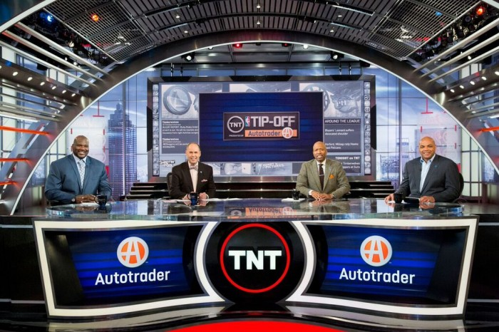 TNT's Sports Emmy Award-Winning Inside the NBA.