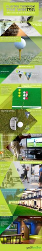 Playing Golf Through The Winter - GolfOnline UK Infographic
