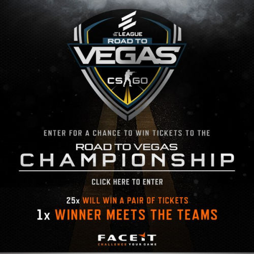"ELEAGUE ""Road to Vegas"" Championship Live from CES in Las Vegas to Feature Two of the Top Counter-Strike: Global Offensive Teams in the World in Action"