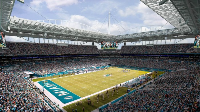 Miami's Sun Life Stadium to Enhance Fan Experience and Energy Efficiency with Eaton's Advanced Ephesus LED Lighting System.