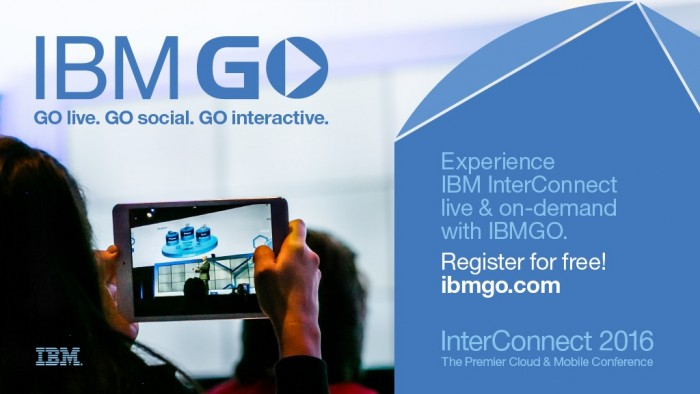 IBMGO, Go Live, Go Social, Go Interactive at Interconnect.