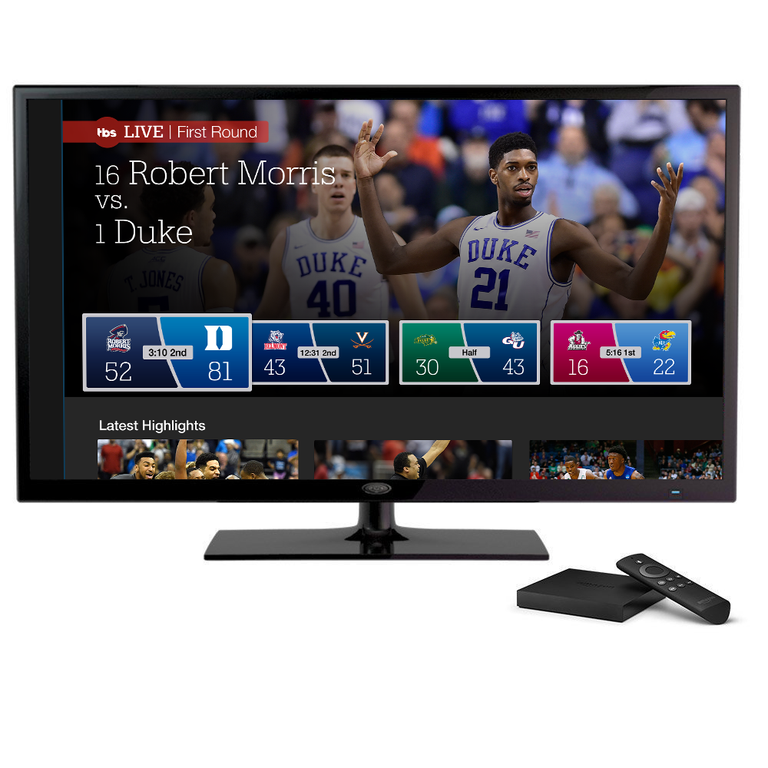 New NCAA March Madness Live App Platforms Include Amazon Fire TV, Apple TV and Roku