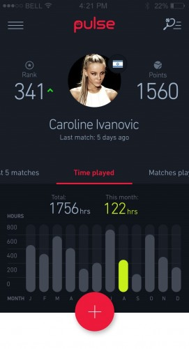 Pulse Play just launched an app and smartwatch for racket sports players.