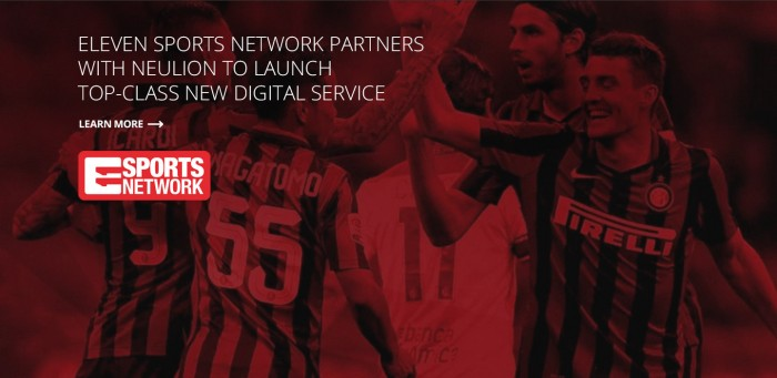 Eleven Sports recently transitioned from eversport.tv to the NeuLion Platform.