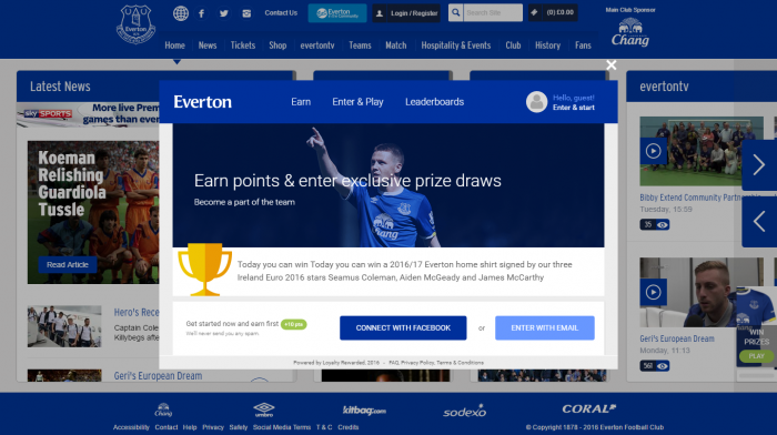 Everton's latest innovation set to boost digital engagement.