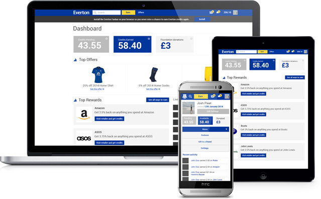 The Everton Rewards App is the smart, simple and secure way to earn discounts on Everton products just for shopping online as many do already.