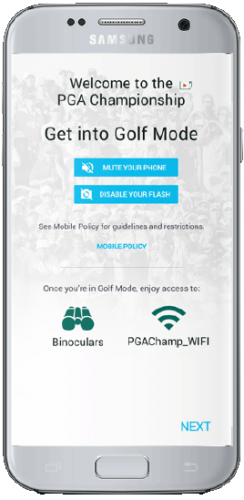 The PGA Championship Live video player platform can be viewed on your desktop computer, iOS and Android smartphones and tablets, or the PGA Championship TV app for those with a Samsung Smart TV.