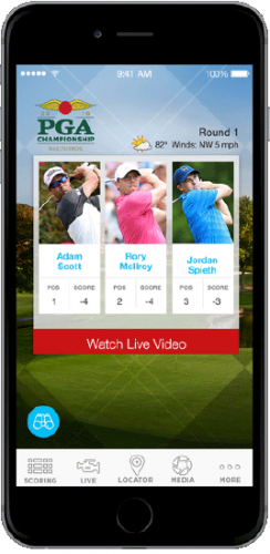 The Sports Emmy Award-winning PGA Championship LIVE video player will be available across a wide array of platforms including desktop, iOS and Android tablets, smartphones and the PGA Championship TV App, designed exclusively for Samsung Smart TVs.