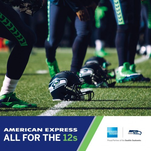 "American Express Hosts ""Dinner on the 50"" on CenturyLink Field."
