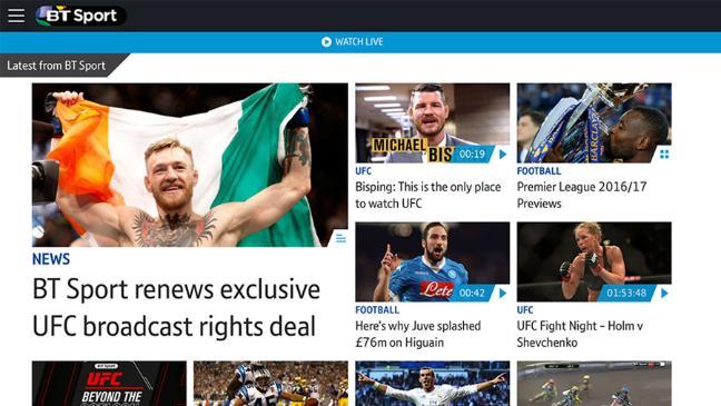 Watch Live Premier League Football Action On BT Sport App Powered By Deltatre - Sports Techie blog.