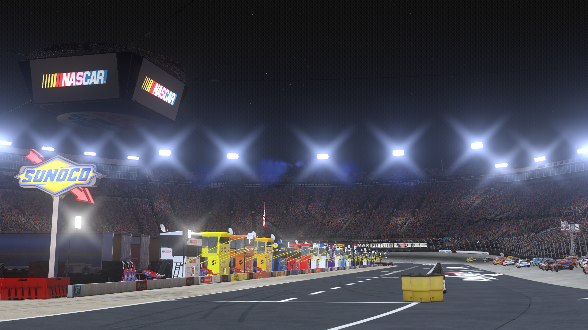 NASCAR Heat Evolution is the first authentic NASCAR game on Xbox One and PlayStation 4. Join the biggest drivers and the most iconic NASCAR Sprint Cup Series tracks. Or take the race online with up to 40 other players, a first for console games.