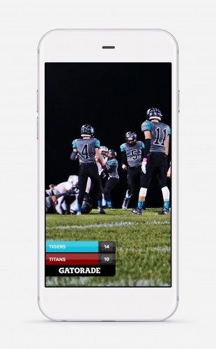 ScoreStream partners with Snapchat to offer crowd-sourced, high school scoreboard Geofilters.