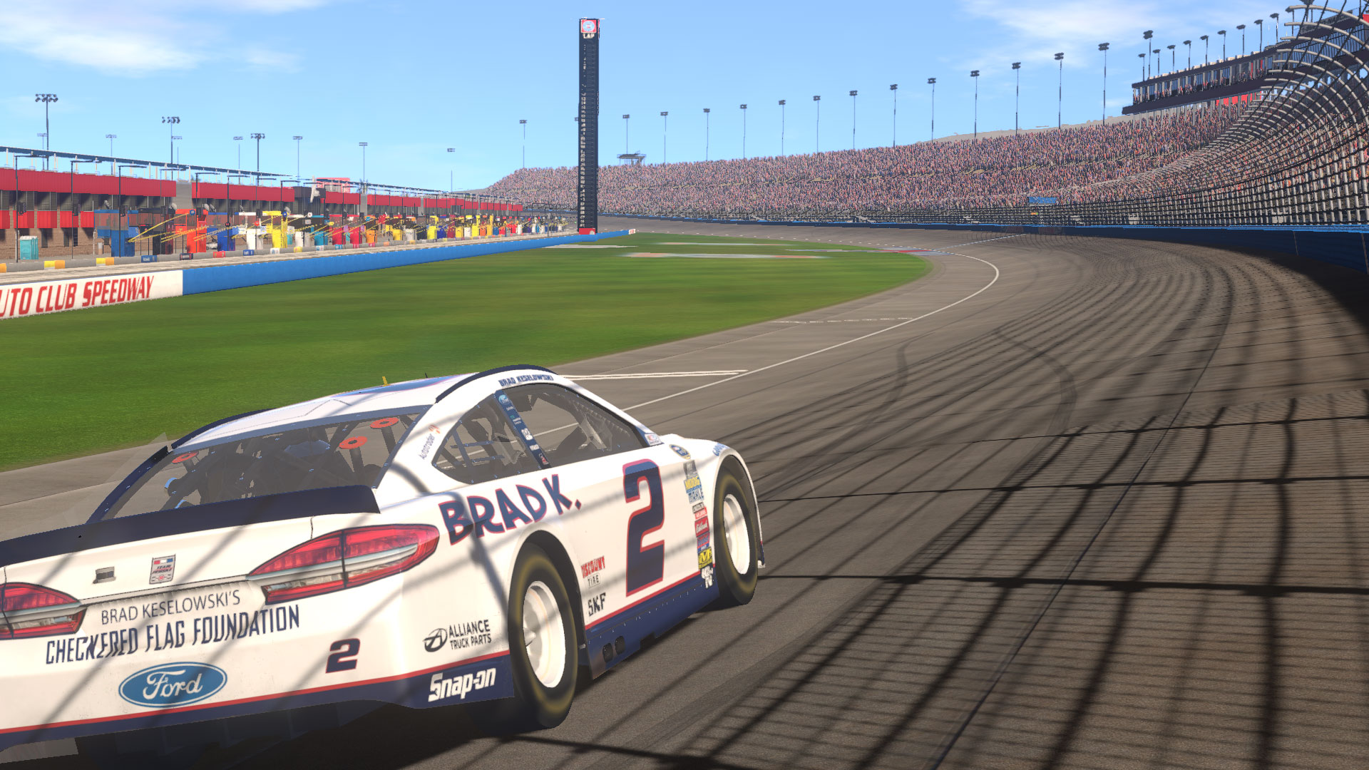 Become your favorite racer or match up in a full loaded field from a pool of 43 talented drivers and teams.