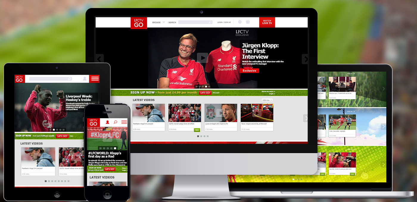 Since working together with Liverpool FC since 2001, StreamAMG has helped drive the number of paid subscribers to more than 40,000.