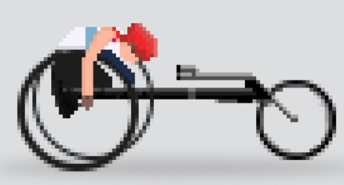 The retro pixelated design for the game (hence the name) where you can race on the track as a Paralympian is a hoot and you can track your top time on the leaderboard as well as donate to the British Paralympic Association (BPA.)