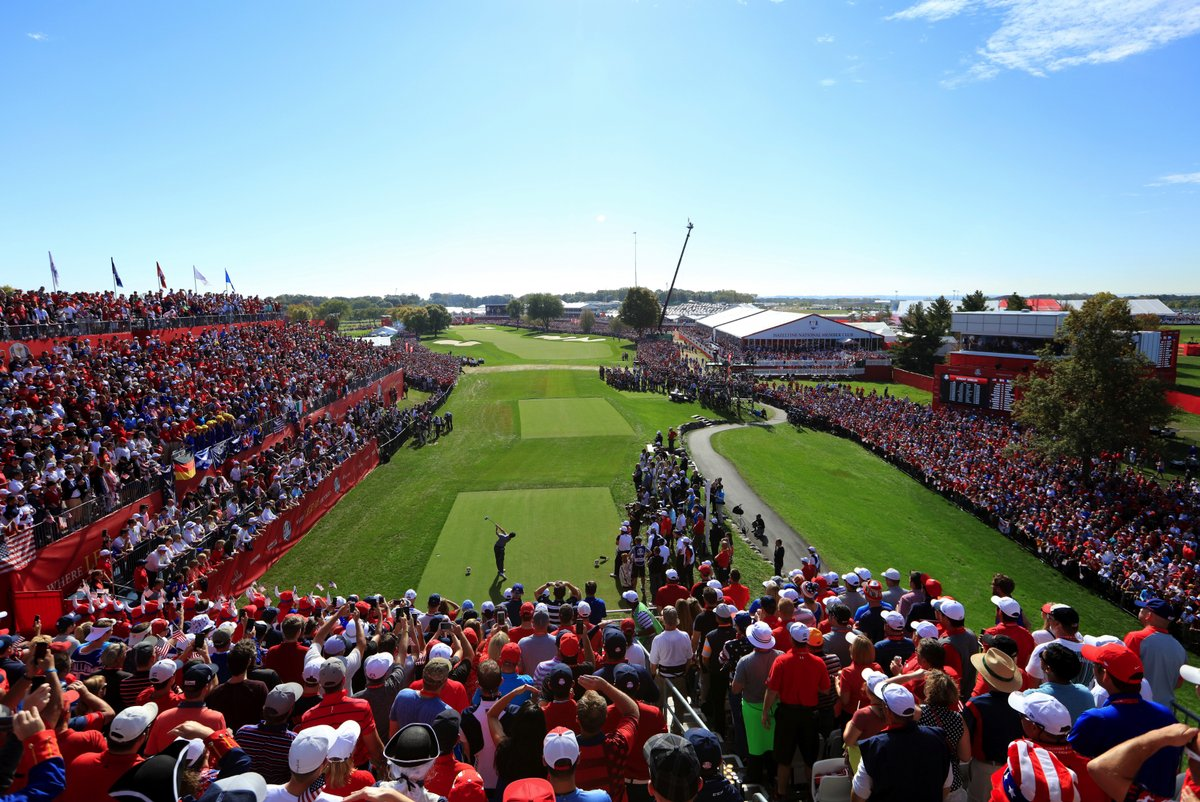 The new 1st Tee Experience show at Ryder Cup 2016 by The PGA of America teamed up with Turner Sports and NBC Sports.