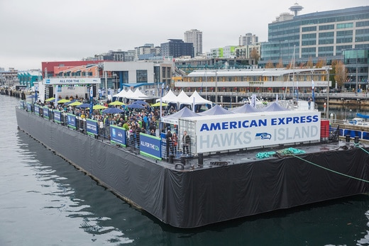 "American Express and the Seattle Seahawks Return for Second Season of ""All for the 12s"" Experiences in 2016."