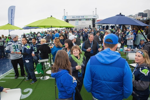 Exclusive Benefits for AMEX Card Members and Seahawks 12s.