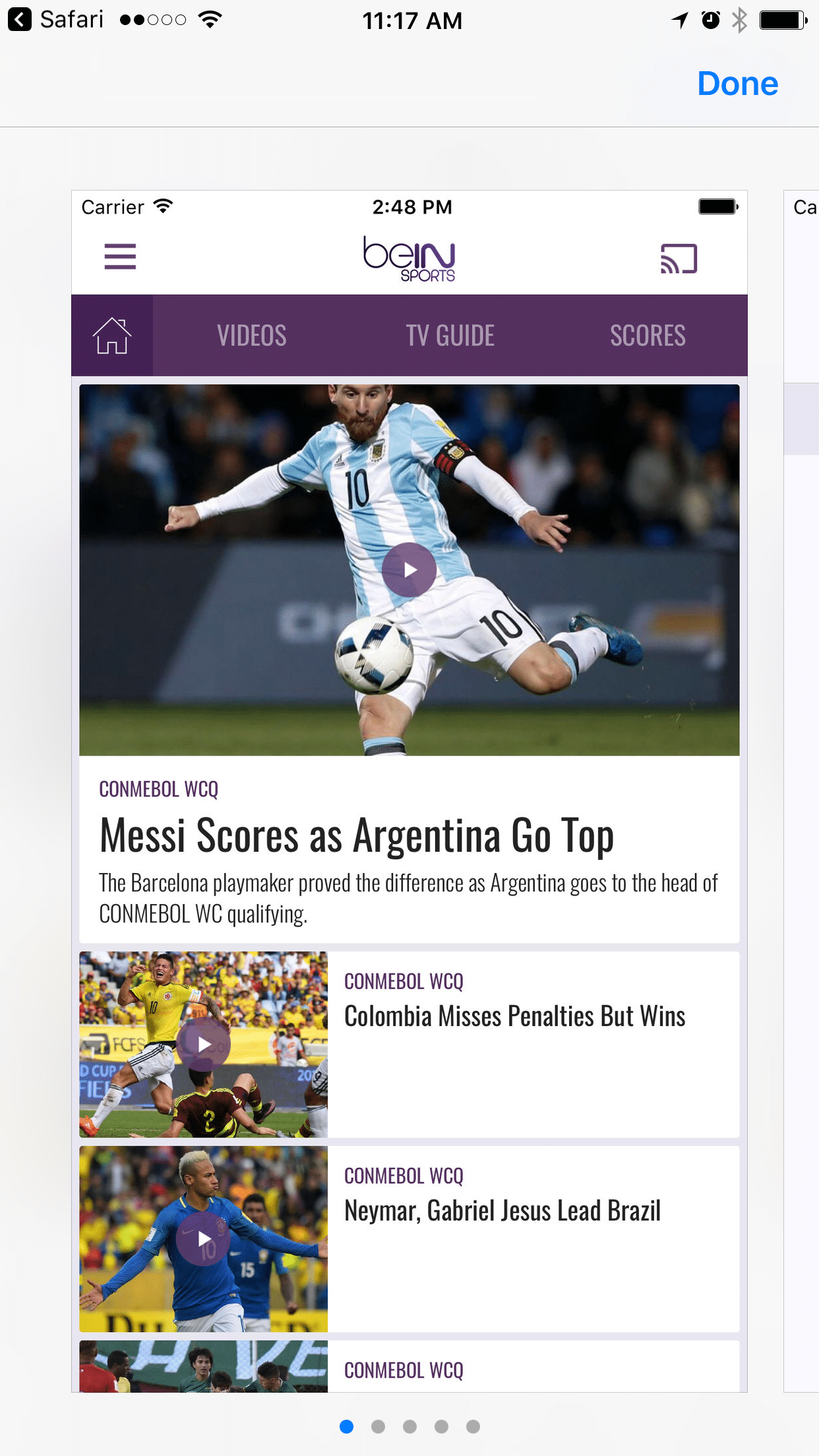 beIN SPORTS LAUNCHES NEW APPS FOR ON-THE-GO SPORTS FANS IN CANADA.
