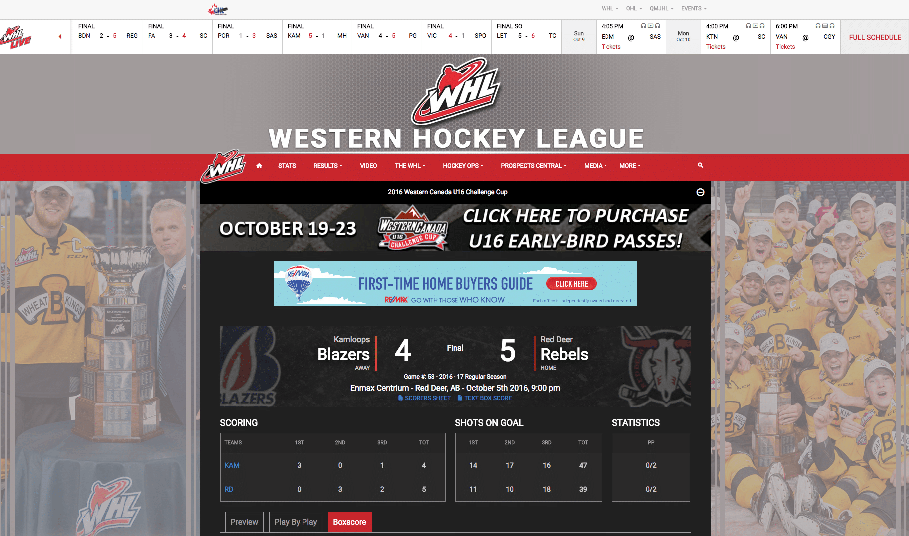 Stadium Digital Powers Canadian Hockey League Technology Behind CHL Website Network - Sports Techie blog.