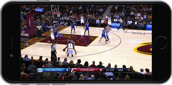 NBA LEAGUE PASS Traditional View.