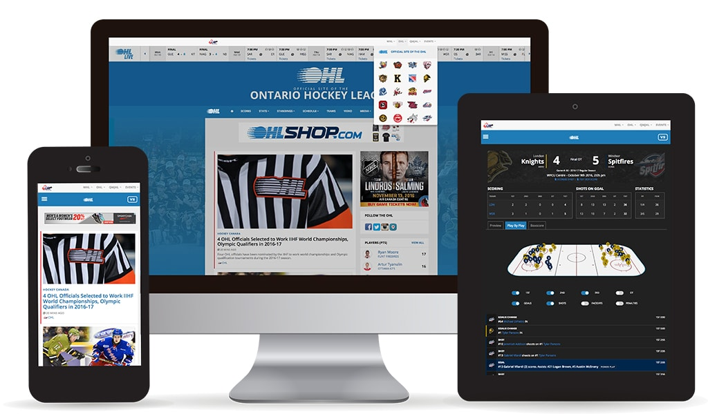 Stadium Digital Powers Canadian Hockey League Technology Behind CHL Website Network - #SportsTechie blog.
