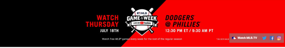 MLB on YouTube