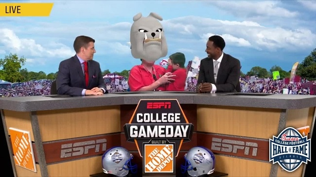 ESPN College GameDay Desk
